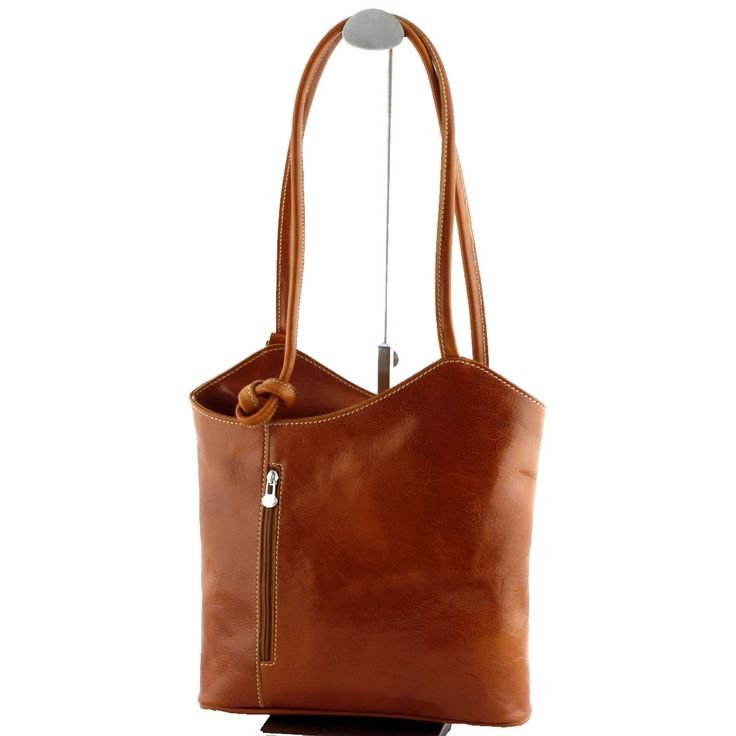 Leather shoulder bags - COT1229 by ContiofTuscany on Etsy
