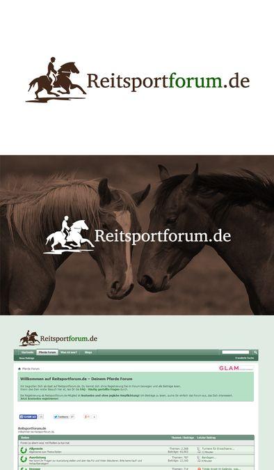 Neuer Header für das Pferde Forum Reitsportforum.de gesucht by brandphant™