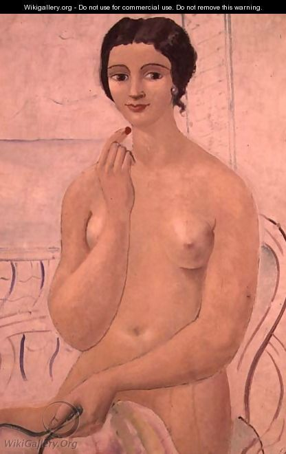 Girl with Lipstick (c.1925) by Christopher Wood