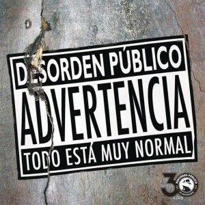 """Desorden Público estrena nuevo single: """" Todo está muy normal """" on http://www.yosoyvenezolano.com/noticias-de-venezuela/ultimas-noticias-venezuela/todo-esta-muy-normal/"""