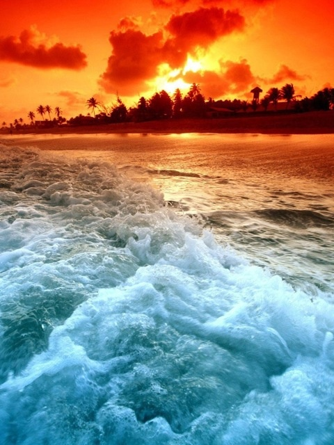 148 best images about Sunset at the beach!! Beautiful! on ...