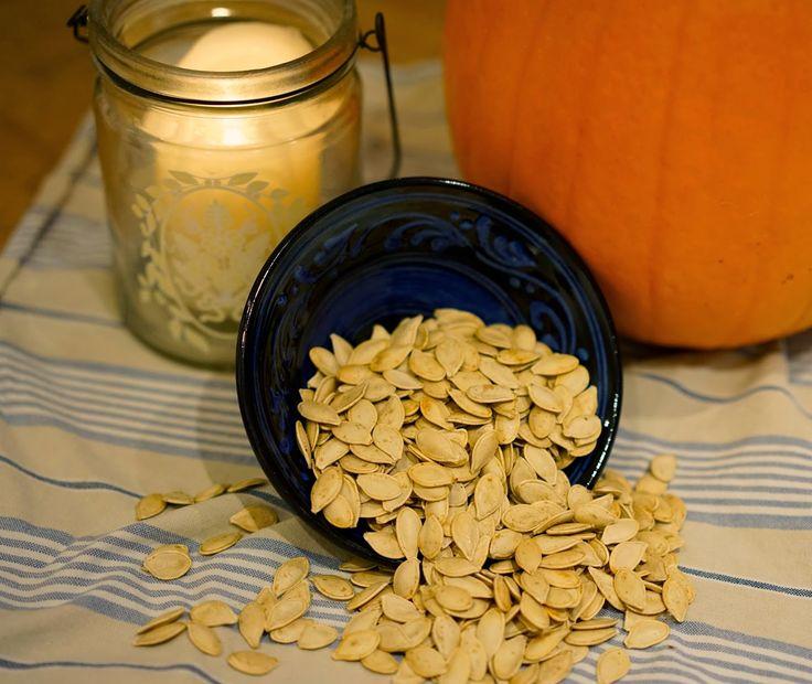 Pumpkinseeds for Halloween