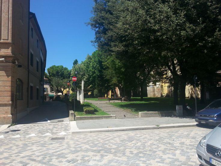 a little park in Rimini