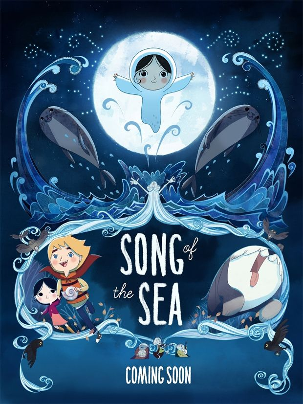 'Song of the Sea' Opens in NYC, Toronto December 19 // CAN'T WAIT