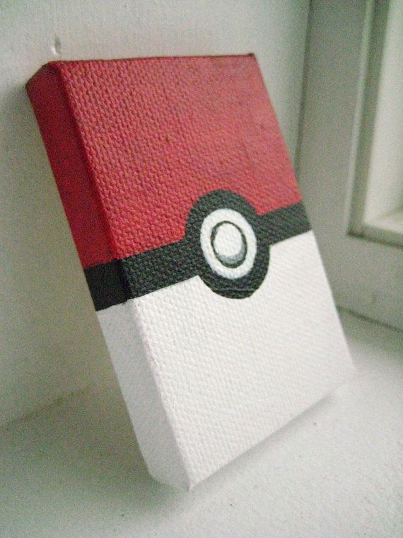 Painted Poke-Ball Magnet