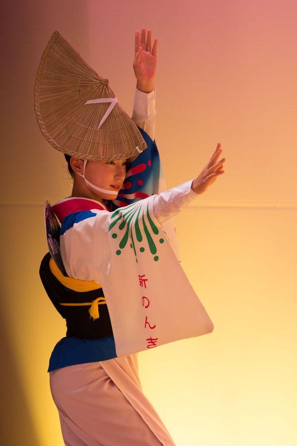 Dancer, Awa Odori, Tokushima Prefecture, Shikoku, Japan