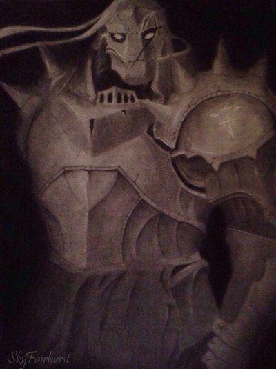 Alphonse Elric by SkyFairhurst.deviantart.com on @DeviantArt