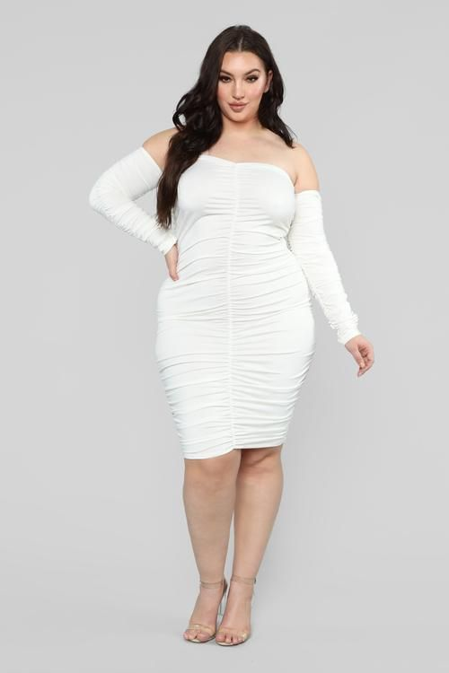 plus-size | vivo.com in 2019 | Dresses, White midi dress, Womens ...