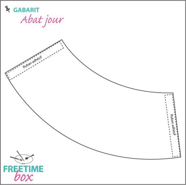 Tuto DIY : Gabarit pour réaliser un abat jour en papier calque