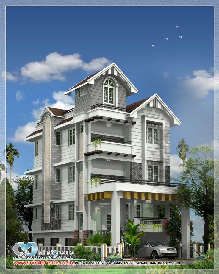 Kerala Model Home Plans