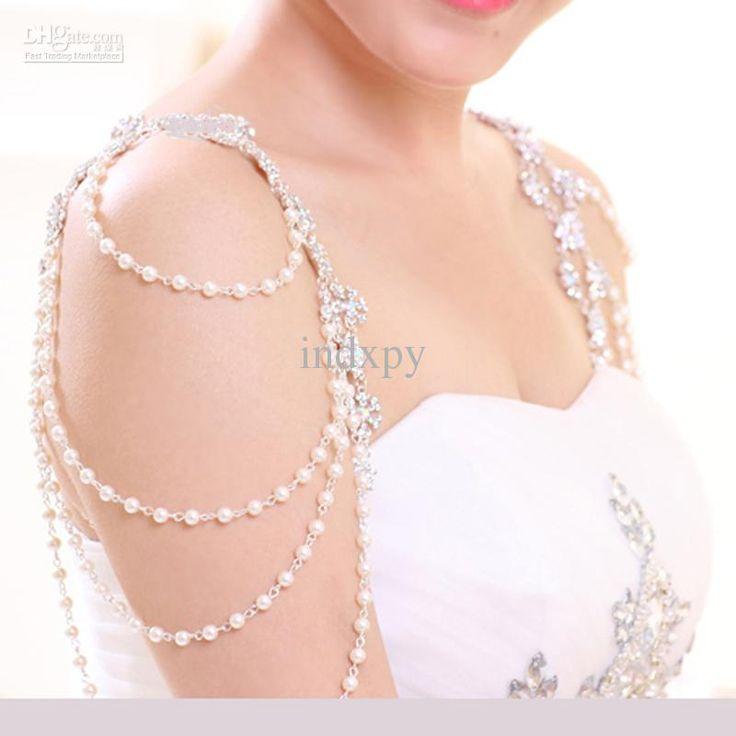 Shoulder Jewelry Wedding Ideas Wedding Dress Necklace