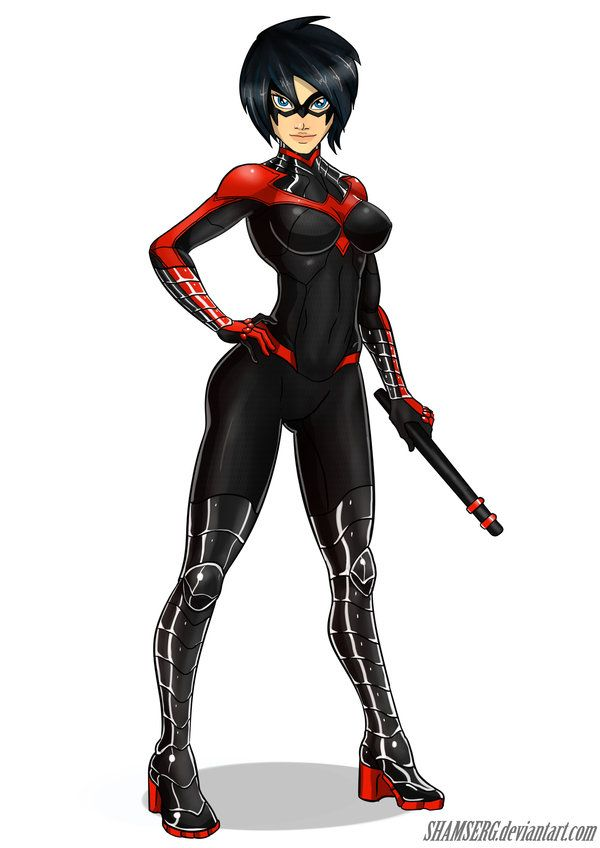 Nightwing Girl by shamserg.deviantart.com on @deviantART ...
