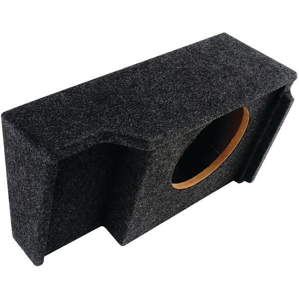 "ATREND A151-10CP BBox Series Subwoofer Boxes for GM Vehicles (10"" Single Downfire, GM Ext Cab)"