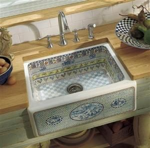 this french country apron sink is gorgeous - French Kitchen Sinks