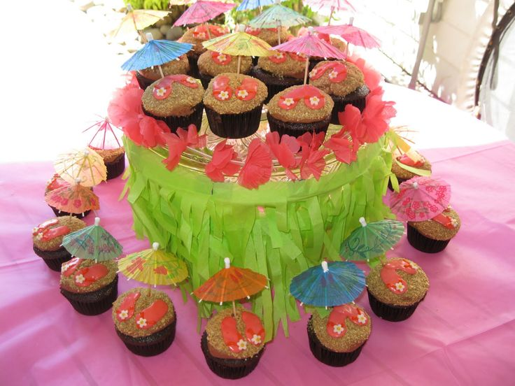 Girl Pool Birthday Party Ideas | Sweet Shoppe: Girly Luau Birthday Party  @Andee Troy