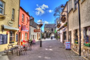 Tholsel Street. Carlingford, Ireland. @fabulousgirl A member from the club said that we should go to this town on the way back from Belfast. We pass it along the way. Said its really cute, small and a typical old irish town.