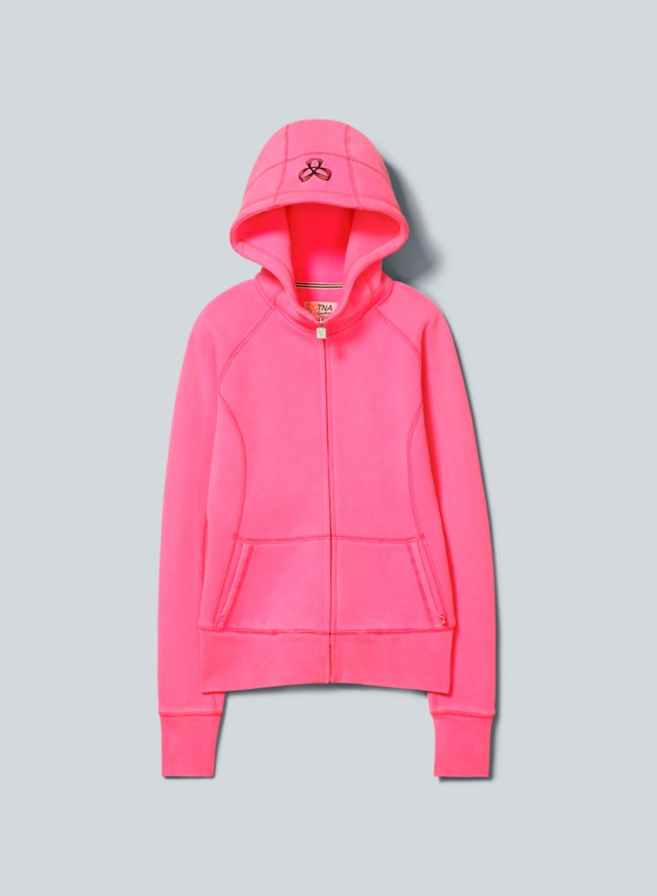 TNA Adrenaline Hoodie, now available at Aritzia.com. #neon