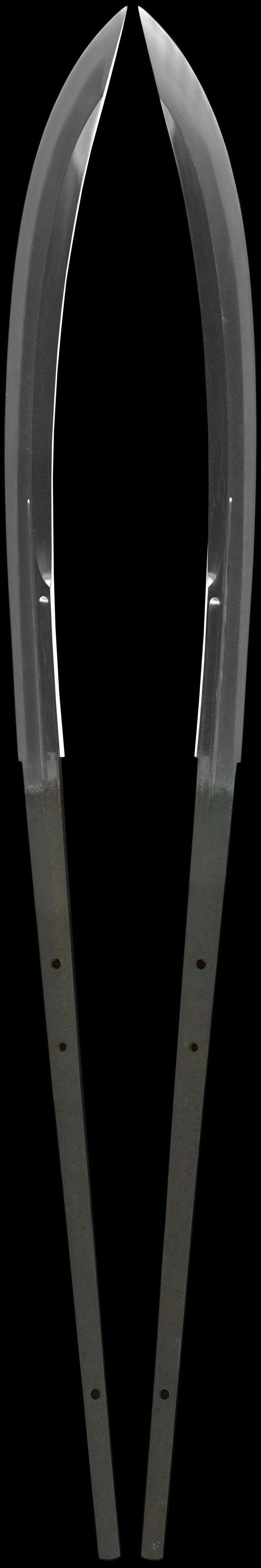 全体画像 薙刀 九州肥後同田貫次兵尉 naginata [kyushu higo doutanuki tsugihei_no_jo]