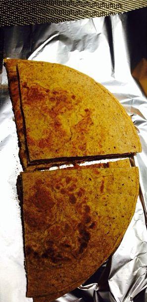 panqueca de abóbora: farinha de coco, proteína isolada de soja, abóbora, canela