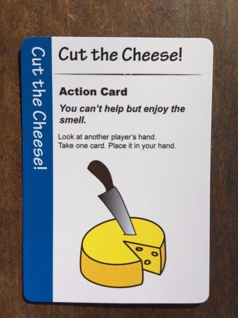Fart Juice Cards. Cut the Cheese!