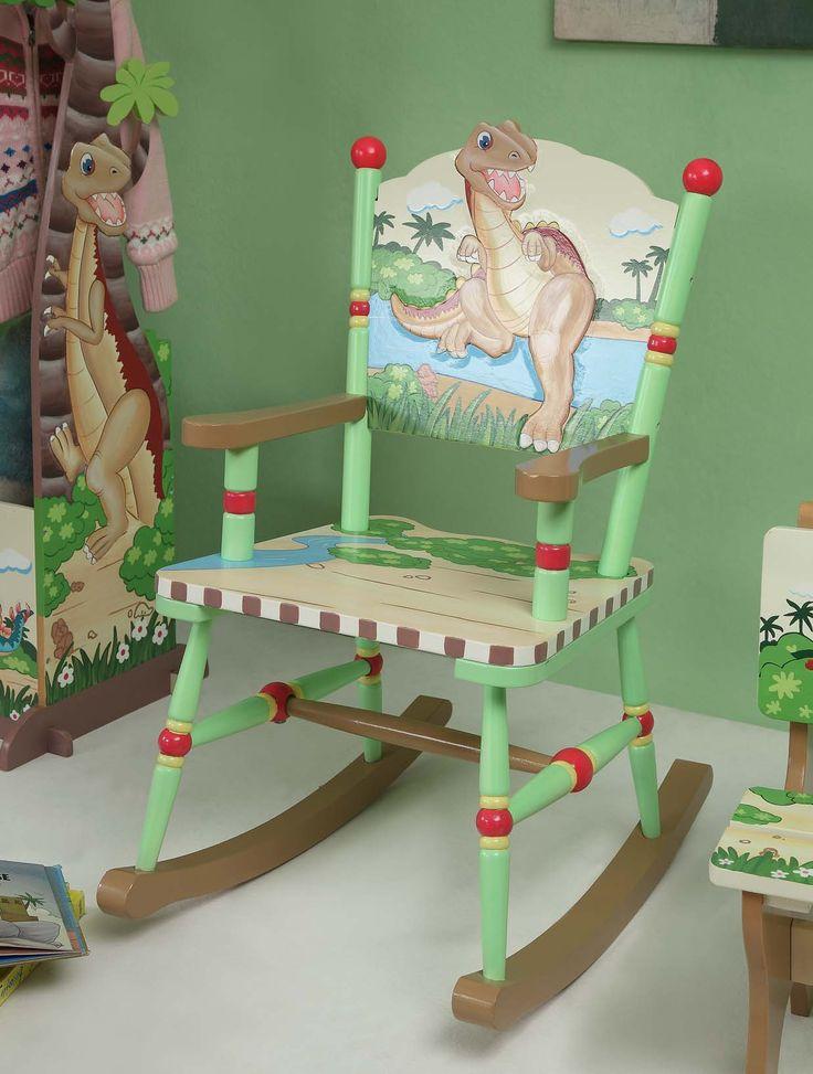 rocking chair rocking horses rocking chairs dinosaur furniture kid ...