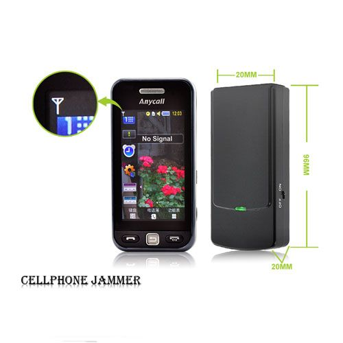 Cell phone camera jammer - mobile frequency jammer for cell phones