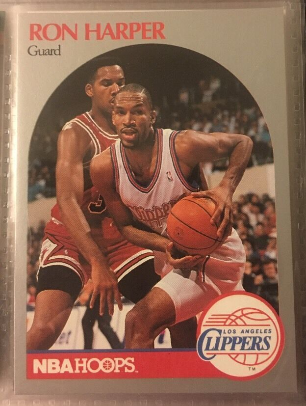 1990 NBA Hoops Ron Harper 146 L A Clippers Near Mint Combined s H | eBay
