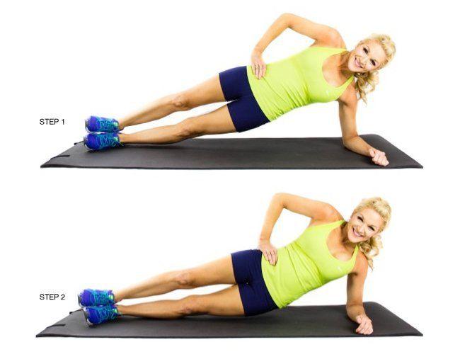 Side Plank Hip Drops