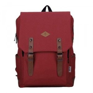$111.00 Cheap MCM Outlet Singapore Stud Stark Backpack Maroon
