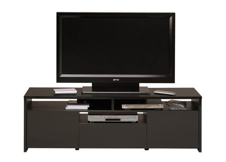 buffets suporte de tv du 1er hifi noir 1er sept tv hifi le salon dans le tv stand - Buffet Noir