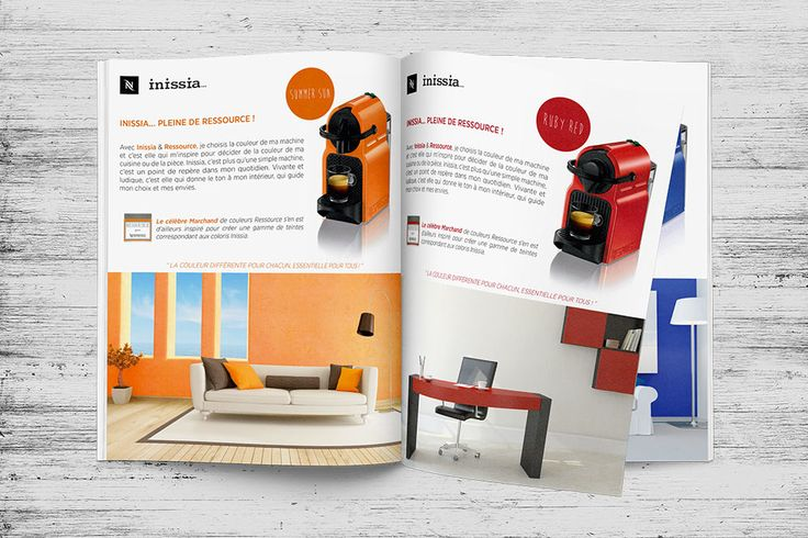 Agence Wouaille ! | Annonce Presse / Encart Publicitaire | Conception Annonce Presse / Encart Publicitaire | Nespresso