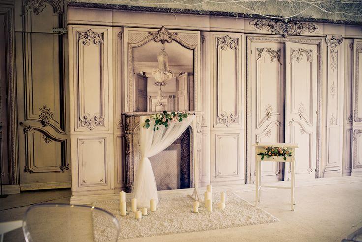 Výzdoba obřadu - realizace Jedinečná svatba & DECSTORE