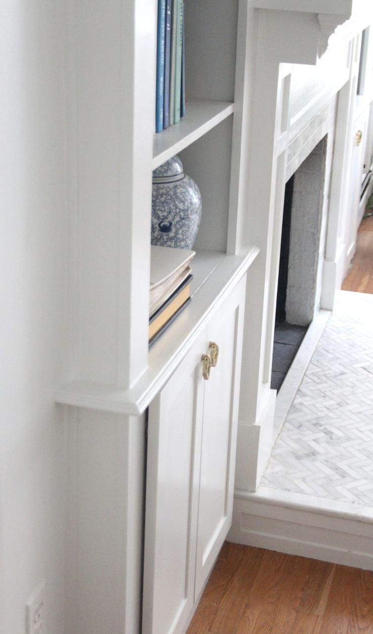 Updating & Adding Doors To BuiltIn Bookcases