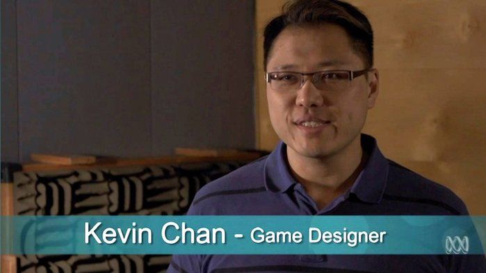 Digital Careers: Games designer and developer - Science,Technologies,STEM (8,9,10). Have you ever wanted to make a computer game? That's Kevin Chan's job. Kevin works at Robot Circus designing and developing computer games and apps. You can play one of Kevin's awesome award-winning games, QED, right here on ABC Splash!