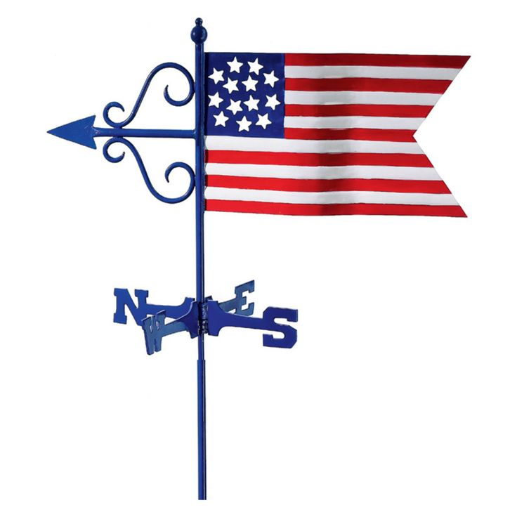 Good Directions Americana Flag Weathervane 836g