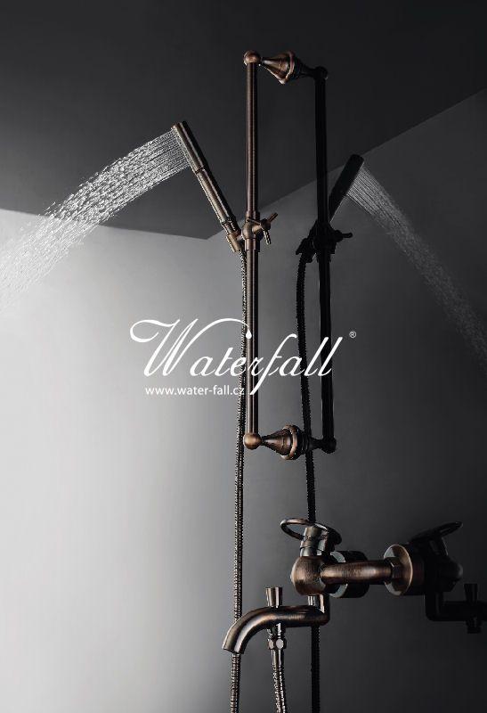 Retro sprchový set, retro sprcha http://www.water-fall.cz/cz/koupelnove-baterie-luxusni-kuchynske/koupelnove-serie/sole/