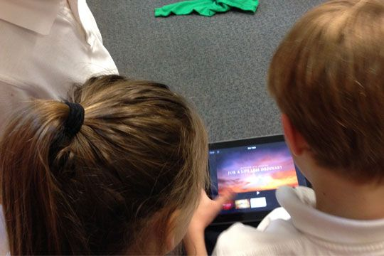 Learn about the corporal works of mercy with your class and make iMovie trailers to reinforce the lesson. Find this and other classroom resources on mercy at Catechist's Journey.
