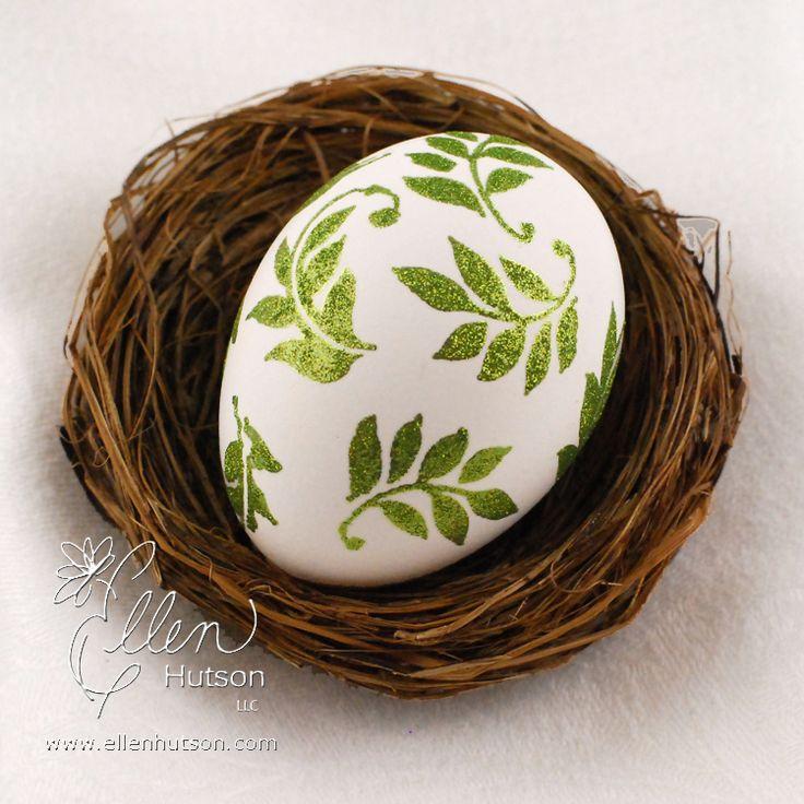 Glittered Egg