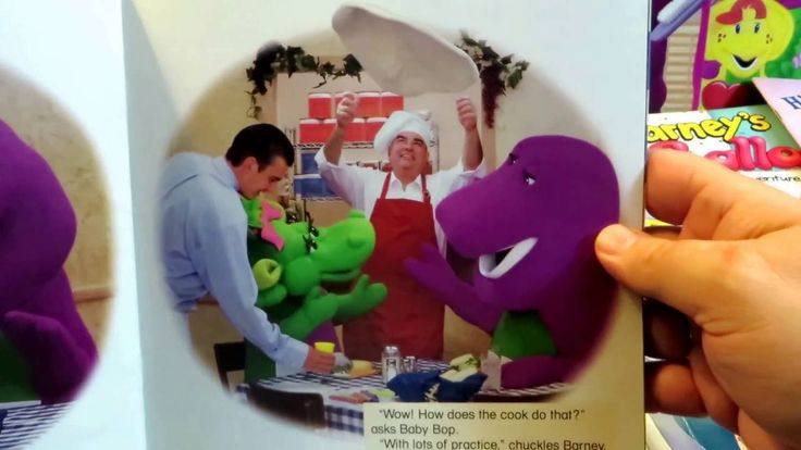 Reading full with, Barney And Baby Bop Go To The Restaurant | Barney Picture Books, Children