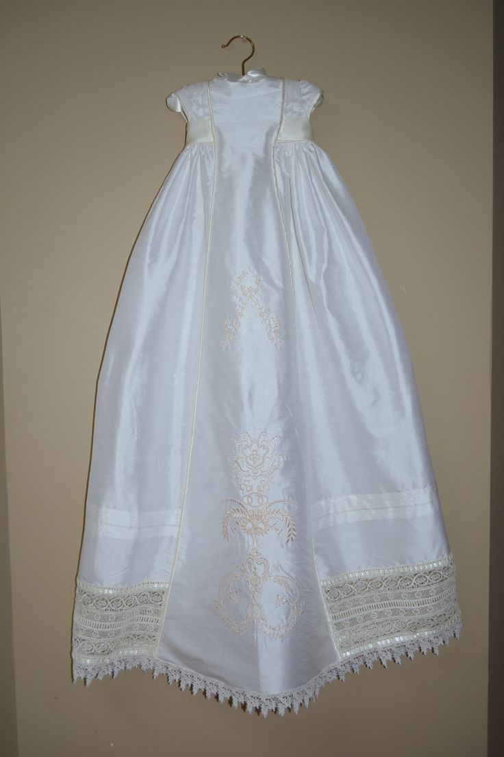 89 best Girls Baptism Gowns images on Pinterest | Christening ...