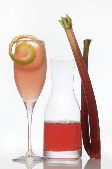 Rhubarb Syrup: Nyt Cooking, Syrup Recipes, Sparkle Wine, Rhubarb Drinks, Rhubarb Syrup, Fresh Strawberries, Atop Yogurt, Fruit Syrup, Drinks Ideas
