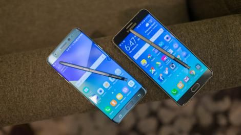 UPDATED: Samsung Galaxy Note 7 vs Note 5