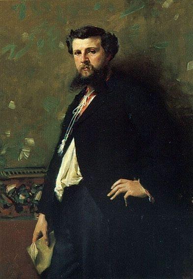 Portrait of Edouard Pailleron