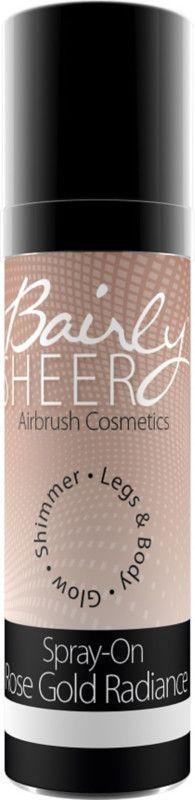 Bairly Sheer Spray-On Mist Body Shimmer