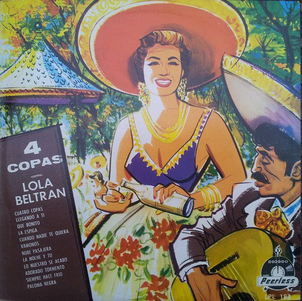 Lola Beltrán Con El Mariachi Guadalajara De Silvestre Vargas - Cuatro Copas (Vinyl, LP, Album) at Discogs