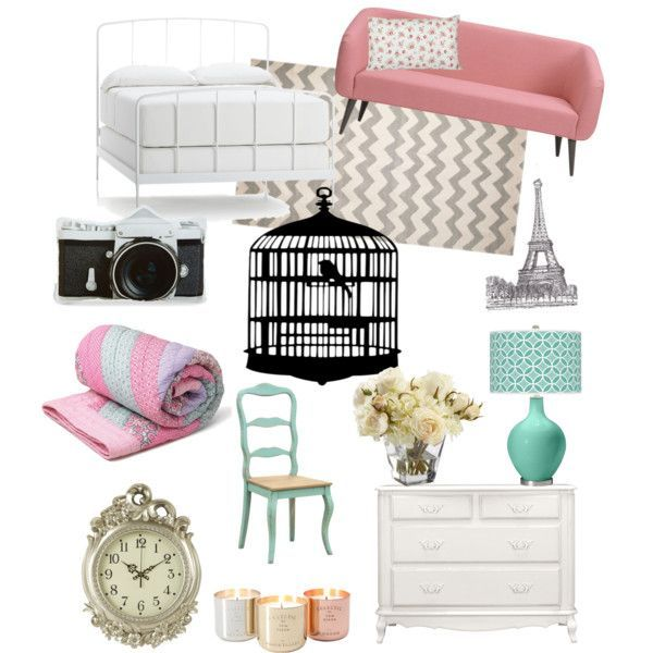 Girly Kitchen Decor: 17 Best Images About Decor Polyvore On Pinterest