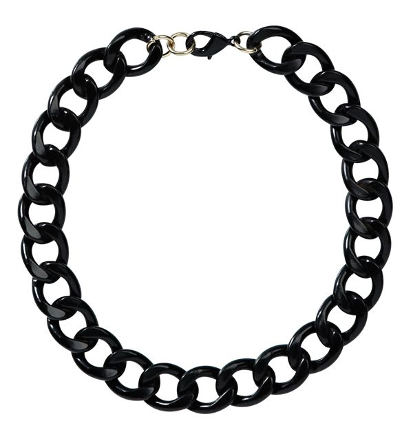 Chain Necklace from Wildpair. #monochrome