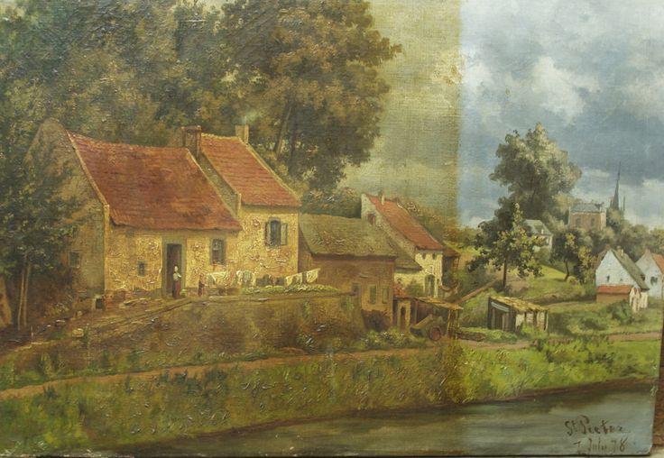 schoonmaken van een schilderij, Driessen vof
