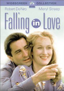 Two strangers pick up each others packages while shopping at Rizzoli's bookstore during the holidays. They keep meeting and fall in love, even though both are married to other people. Amazon.com: Falling in Love: Robert De Niro, Meryl Streep, Harvey Keitel, Jane Kaczmarek, George Martin, David Clennon, Dianne Wiest, Victor Argo, Wiley Earl, Jesse Bradford, Chevi Colton, Richard Giza, Peter Suschitzky, Ulu Grosbard, Michael Kahn, Marvin Worth, Robert F. Colesberry, Michael Cristofer: Movies…
