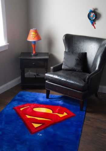 Is your decor somewhat less than super? Up the ante with this official Superman 4x6 area rug!